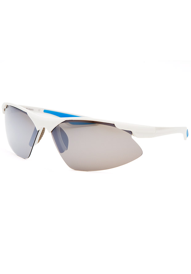 Men's Sports White Sunglasses - Columbia Watch