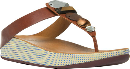 Women's FitFlop Jeweley Leather Thong Sandal