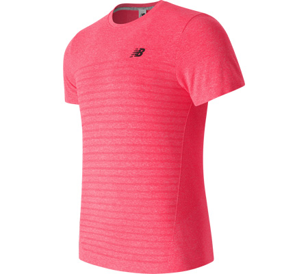 Men's New Balance M4M Seamless Short Sleeve Top
