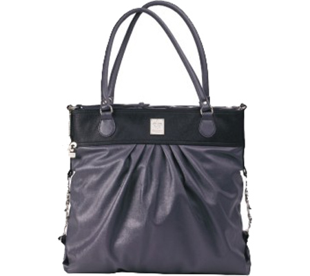 Women's Kalencom City Slick Diaper Bag - On the Wild Side/Pewter Tote Handbags