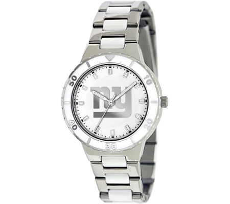 Women's Game Time Pearl Series NFL - NY Giants Wrist Watches