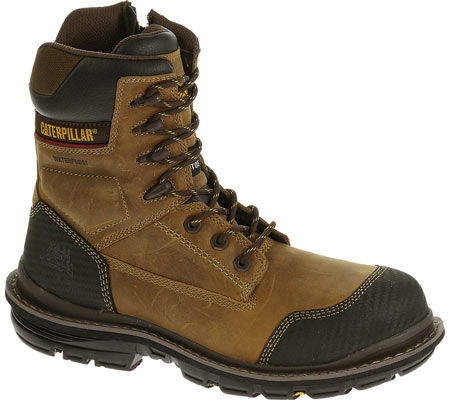 "Men's Caterpillar Fabricate 8"" Tough Waterproof Composite Toe Boot"