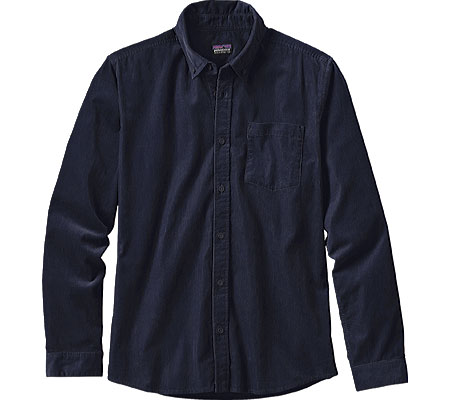 Men's Patagonia Long-Sleeved Bluffside Cord Shirt