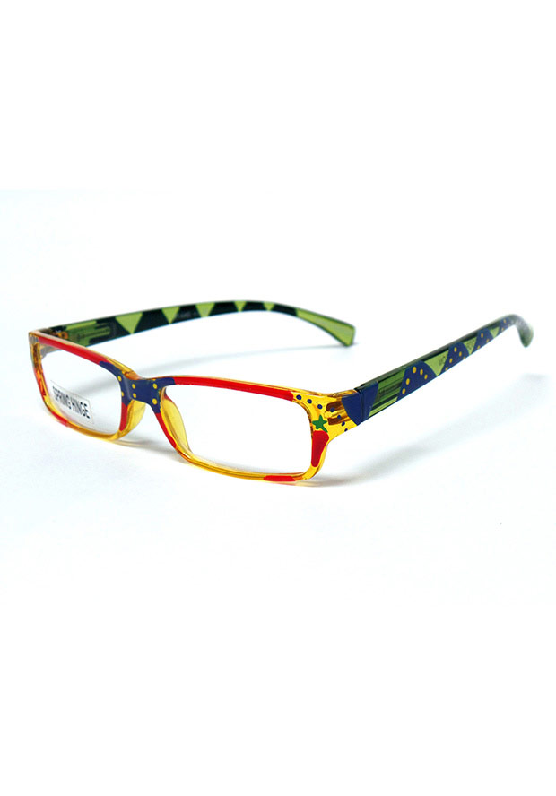Rocco Originals Watches Yellow Fashion Reading Glasses
