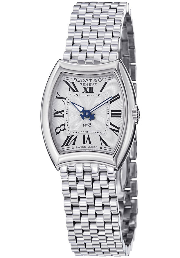 Women's No3 Silver Dial Stainless Steel - Bedat & Co. Watch
