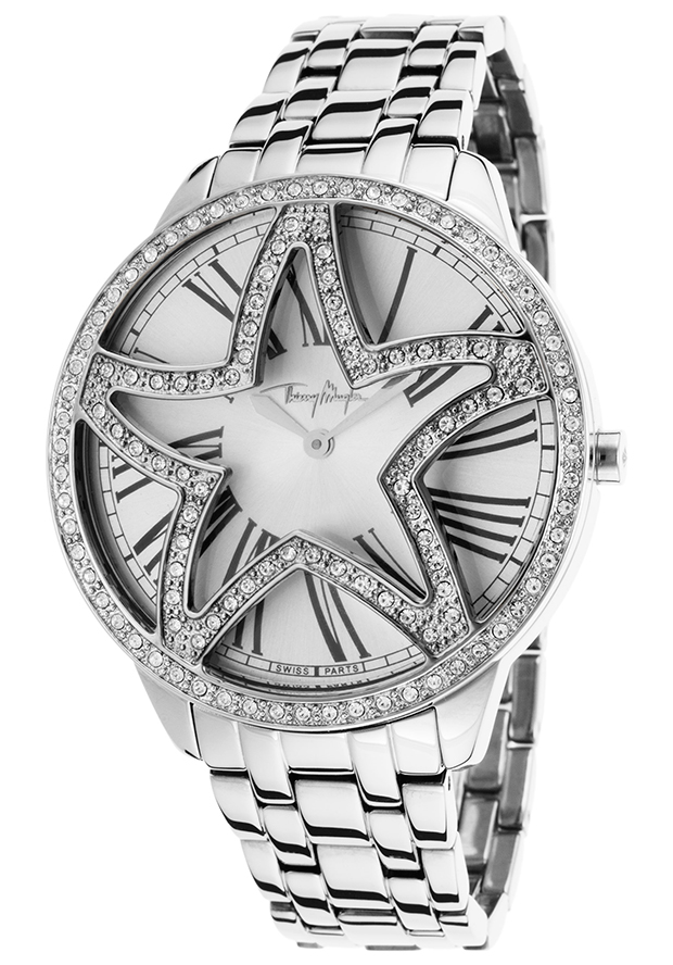 Women's Silver-Tone Stainless Steel Silver-Tone dial - Thierry Mugler Watch