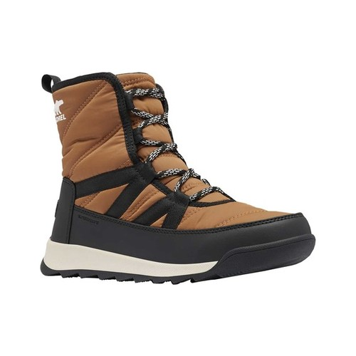 Women's Sorel Whitney Ii Short Lace Waterproof Boot, Size: 11 M, Elk Waterproof Nylon/Polyurethane