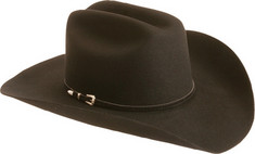 Men's Silverado Cheyanne - Black Hats
