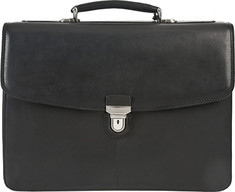"Tony Perotti - Bella Russo 17"" Laptop Triple Compartment Briefca (Men's) - Black"