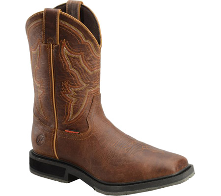 "Men's Double H 12"" Wide Square Toe Western Work Boot"