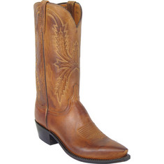 Lucchese Since 1883 - N1547-R4 (Men's) - Tan Burnished Mad Dog Goat