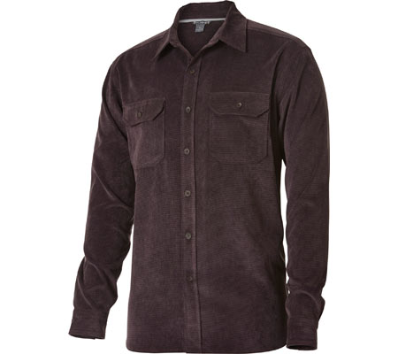 Men's Royal Robbins Grid Long Sleeve Corduroy Button Down