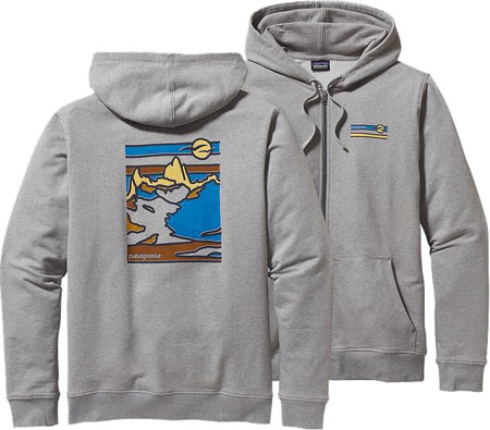 Men's Patagonia Glacier Waves Midweight Full-Zip Hoody