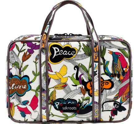 Women's Sakroots Artist Circle Critter Travel Case
