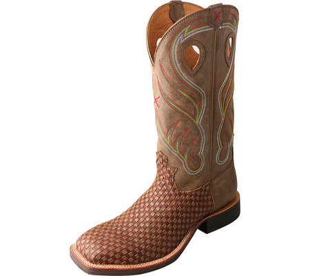 Men's Twisted X Boots MRS0048 Ruffstock Cowboy Boot