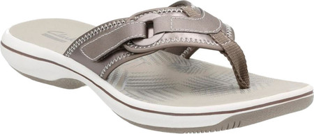 Women's Clarks Breeze Mila Thong Sandal