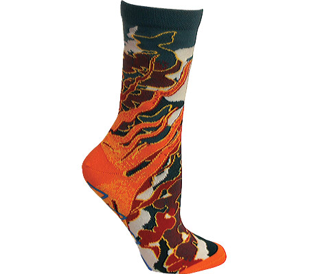 Women's Ozone Fire Crew Sock (2 Pairs)