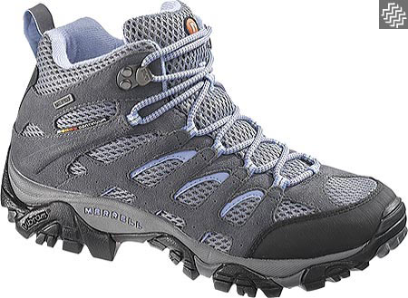 Women's Merrell Moab Mid Waterproof Hiking Boot