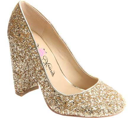 Women's Penny Loves Kenny Ritz Glitter Pump