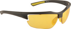 Fila - SF006 (Men's) - Matte Black/Yellow Flash Lens