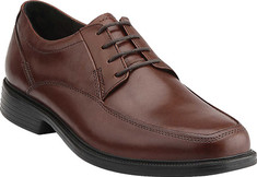 Men's Bostonian Ipswich Oxford - Brown Smooth Leather Oxfords