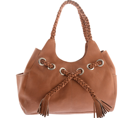 Women's Piel Leather Braided Hobo 2748