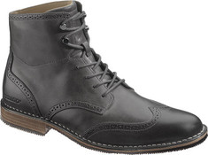 Men's Sebago Hamilton - Black Full Grain Leather Boots