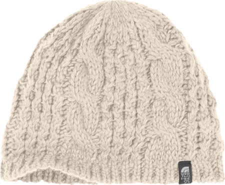 The North Face Cable Minna Beanie - Vintage White Winter Hats