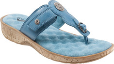 SoftWalk - Boulder (Women's) - Dusty Blue Veg Calf Leather