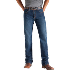 "Men's Ariat Heritage Classic Fit 36"" Inseam - Dark Stone Pants"