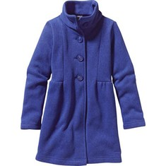 Girls' Patagonia Better Sweater Coat - Cobalt Blue Jackets