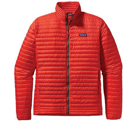 Men's Patagonia Down Shirt - Turkish Red Down Jackets