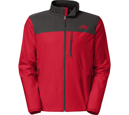 Men's The North Face Nimble Jacket Spring 15 - TNF Red/Asphalt Grey Jackets