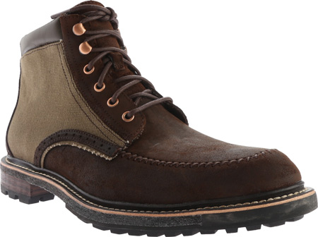 Men's Woolrich Woodwright - Field Tan Canvas Boots