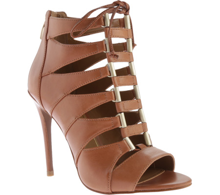 Women's Enzo Angiolini Nehan - Brown Leather High Heels