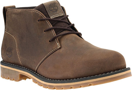 Men's Timberland Grantly Chukka Boot - Dark Brown Full Grain Leather/Suede Boots