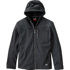 Timberland PRO - Power Zip Hooded Softshell Jacket (Men's) - Jet Black