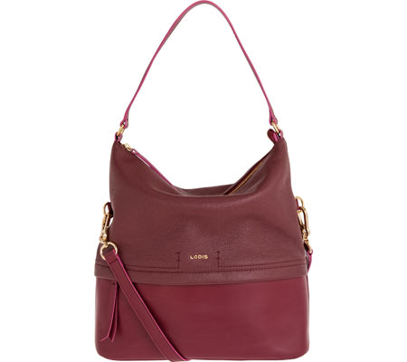Women's Lodis Kate Sunny Hobo - Burgundy Hobo Handbags