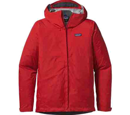 Men's Patagonia Torrentshell Jacket 83802 - French Red Rain Jackets