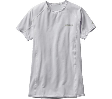 Women's Patagonia R Top - White Sun Protection