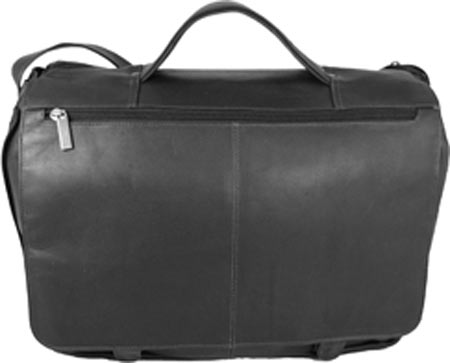 David King Leather 114 Expandable Briefcase