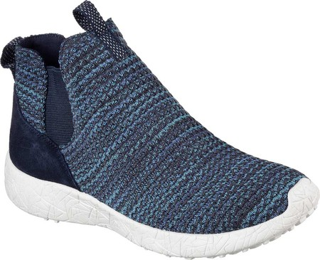 Women's Skechers Burst Fresh Thinking Slip-On High Top