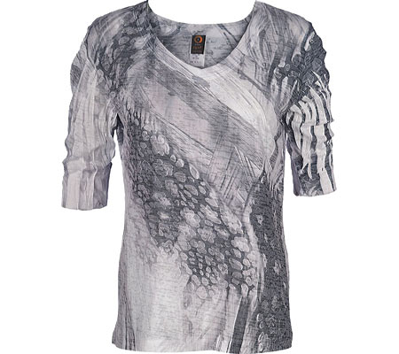 Women's Ojai Clothing Burnout Relaxed Fit Vee