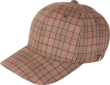 Kangol Plaid Flexfit Baseball