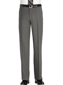 Awearness Kenneth Cole Gray Modern Fit Dress Pants