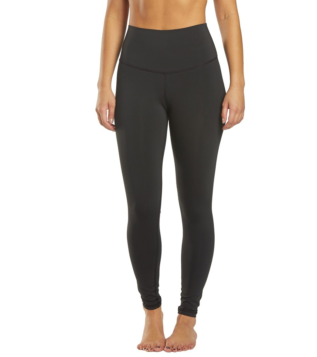 DYI Women's Take Control High Waisted Yoga Legging - Black Small Spandex Moisture Wicking